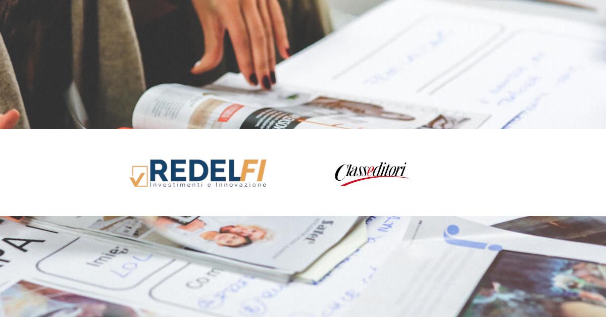 tgcom class editori riporta l'investimenti di Redelfi nel digital marketing e Futurevox